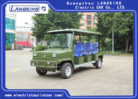 Classic 8 Seater Electric Sightseeing Car With Basket For Security
