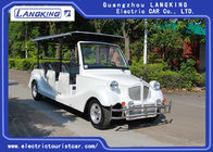 11 Passenger Electric Vintage Cars / Mini Battery Powerd Bus With 72V AC System Left Steering